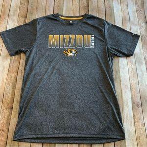 Mizzou Tigers men's short sleeve graphic tee shirt
